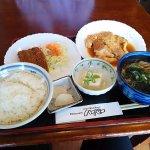お昼の日替わり定食