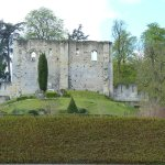 ruine près du jardin