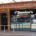 Domino's in Margs main street