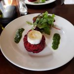 beetroot risotto starter