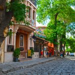 plovdiv old city street