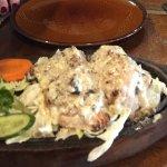 Chicken murg malai tikka entree