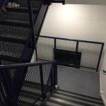 Prison like stairwell