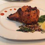 Super-dry signature tandoori chicken (SGD 40++)