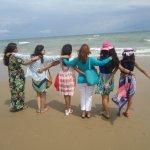 Full masti on beach