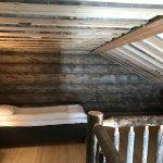 Upper level of Log Cabin