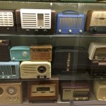Part of the vast array of old valve radios. Photography isn't allowed in the museum unfortunatel