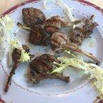 Un secondo di carne: costolette di agnello