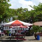 food stalls at Waterkant