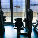 Gym, well ventilated and with several machines