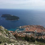 The Adriatic Sea and the town at your feet