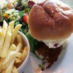 kentucky chicken burger.....mmmmmm