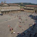 Vista de la plaza desde el Museo Catedralicio.