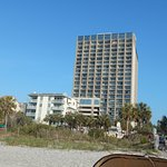 Picture of hotel from beach