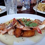 """The """"jumbo shrimp"""" did not disappoint."""