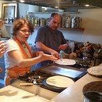 Cooking the Torta al testo
