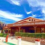 Entrada principal del Restaurante Comtes de Prades