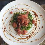 The Tuna Poke, Spicy Kale salad, salmon & whitefish were killer