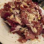 Radič Salad & roasted pig pork slices