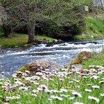le moulin des baronnies et la rivière Arros