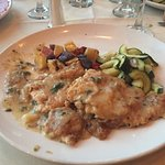 Chicken Francese perfectly done.