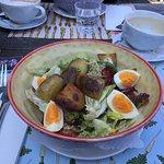 Hauptgang Nizza Salat
