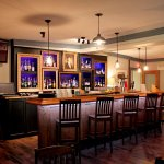 The bar in the Barss Room ~ Main Dining Room