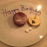 Liebevolles Dessert zum 12. Geburtstag