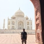 Words can't describe the Taj Mahal. You just have to see it for yourself. This thing is massive