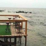 Ótima localização do restaurante Al Fanar, em Tiro. Foto de Dalila Barakat do blog Mil e Uma Via
