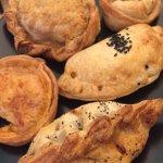 Our five empanadas