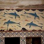 Chemin sacré, salle de bains, sala du trône de Knossos