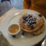 pancakes chocolat Warm Maple Butter