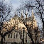 教会裏側の外観