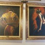 Bonita decoración del salón Las Farolas