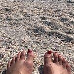 crushed shell beach
