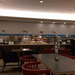 Breakfast area on level 1