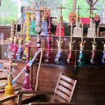 """Water pipes, """"Hookah"""", for rent at the restaurant"""