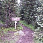 Crag's Crest Trail sign