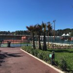 Mouratoglou tennis academy next to the hotel