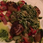 Grilled Chile Dusted Scallops