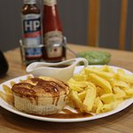 Pie,Chips and Gravy