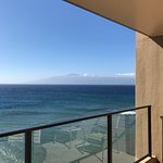 """Mahana 1117- view to the right of """"Molokai"""" from our lanai"""