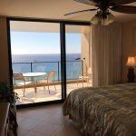 Mahana 1117- looking from the bedroom out to the lanai