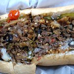 The small cheesesteak