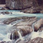 rapids near bridge