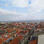 Santa Justa Lift view from top