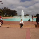 The fountain at Balboa Park