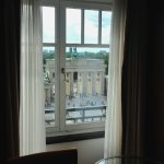 View of the Brandenburg Gate from our room