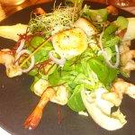 Salade de scampis